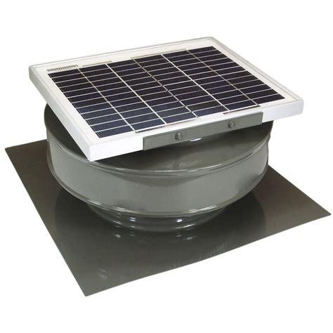 solar powered attic fan reviews active ventilation 365 cfm weatherwood powder coated 5