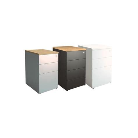 caisson metallique de bureau caisson de bureau métallique p 80cm lemondedubureau