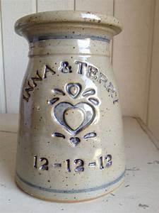 personalized wedding and anniversary pottery gifts With pottery wedding gift ideas