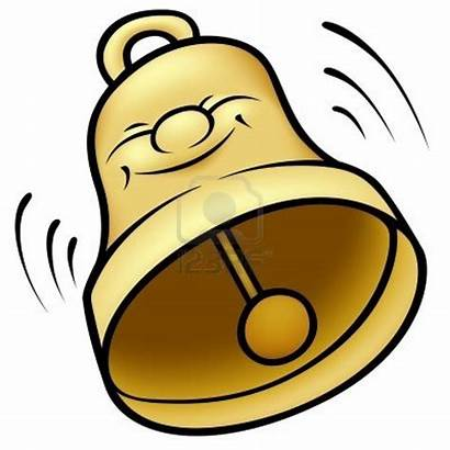 Bell Clipart Cartoon Ringing Illustration Golden Ring
