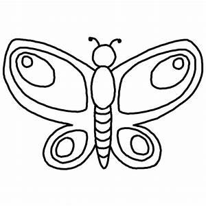 Simple Drawings Of Butterflies - ClipArt Best