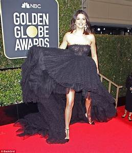 Kendall Jenner is savaged as she attends Golden Globes ...