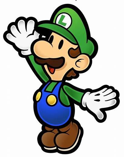 Luigi Wikia Mario Paper Wiki Super Characters