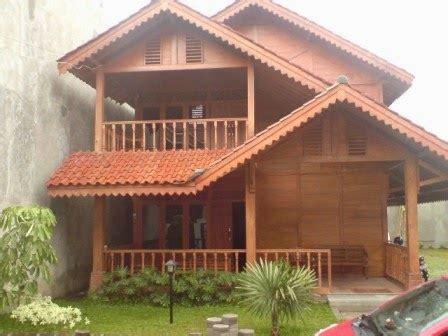 contoh rumah kayu contoh rumah minimalis