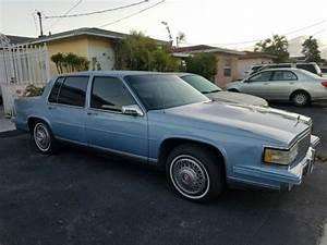 1988 Cadillac Deville Base Sedan 4