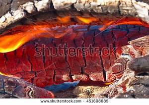 Ribs Grill On Fire Burning Meat Stock Photo 553032037 ...