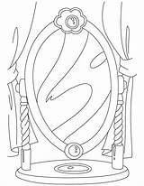 Mirror Coloring Pages Template Printable Snow Pdf Getcolorings Popular Drawing sketch template