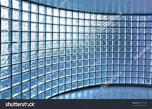 Transparent Glass Wall Modern Building Stock Photo ...