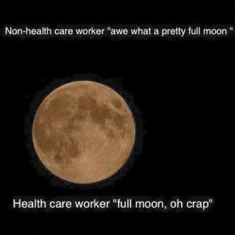 Full Moon Meme - 183 best night shift nursing images on pinterest