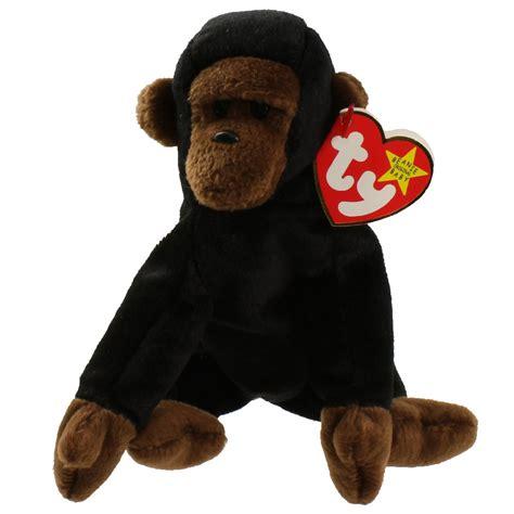 ty beanie baby congo  gorilla   bbtoystore