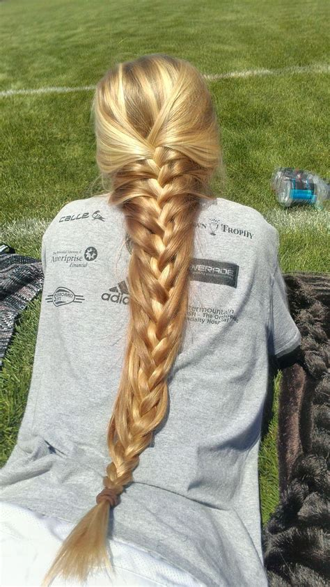 French Braid For Very Long Hairs Hair Pinterest