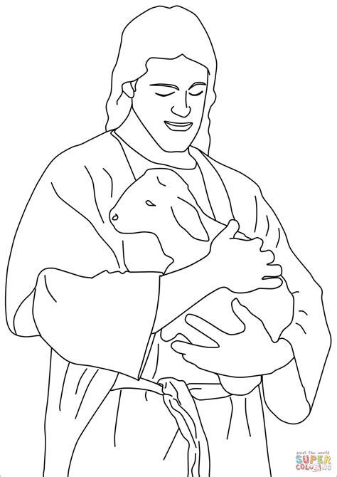 Jezus Goede Herder Kleuters Kleurplaat by Jezus Is De Goede Herder Kleurplaat Lesejahr B 4 Sonntag