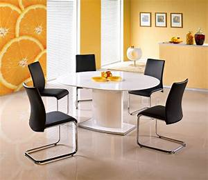 Frederick, Small, Round, To, Oval, Extending, Gloss, Dining, Table, 120cm