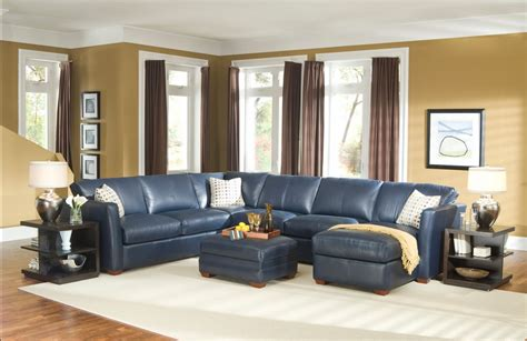 Brown And Blue Sofa by Interior Design Ideas For Traditional Living Room With