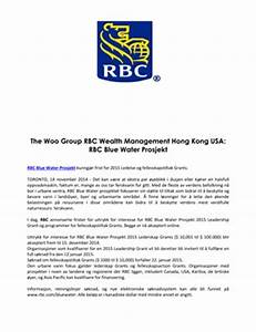 the woo group rbc wealth management magcloud With rbc business plan template