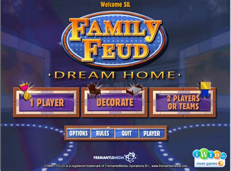 Download family feud 3 for free and enjoy: Family Feud - Dream Home download for free - GetWinPCSoft