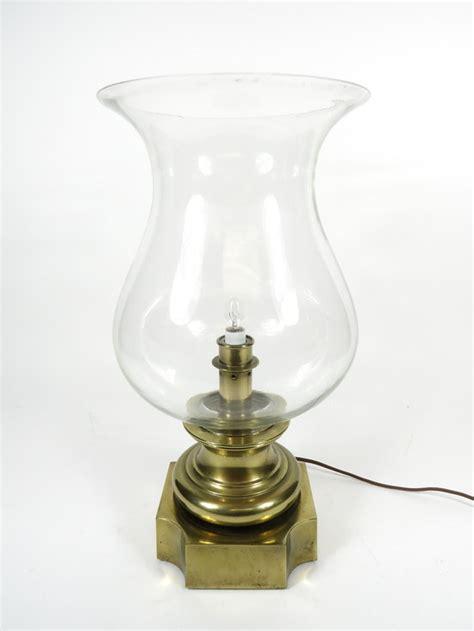 antique electric hurricane ls vintage large 17 75 quot stiffel brass hurricane lamp electric