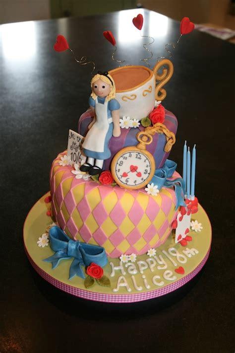 alice  wonderland birthday cake sarah bates cakes