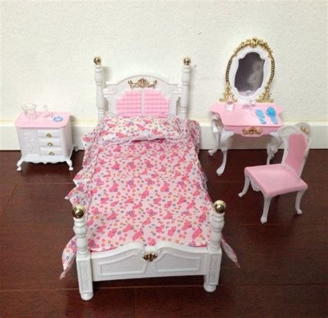 Dollhouse Furniture Set by Size Dollhouse Furniture Bed Room Play