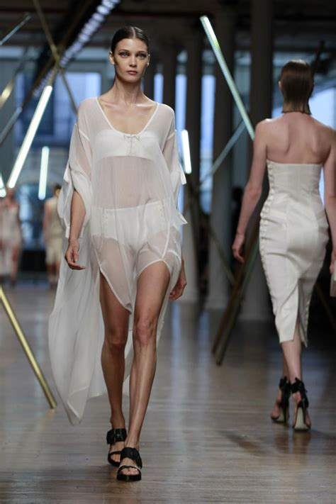 White Out At New York Fashion Week The Hottest Noncolor