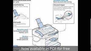 Canon Printer Faxphone L100 User Manual