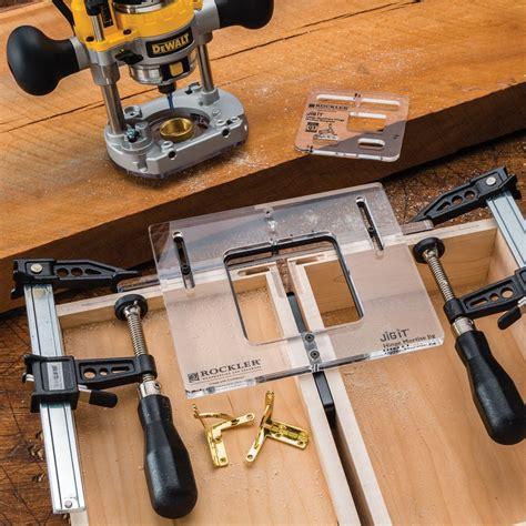 jig  hinge mortising system rockler woodworking