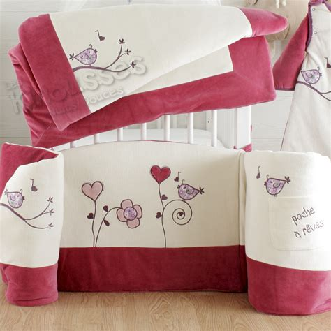 tour de lit bebe fille pas cher lit complet pas cher