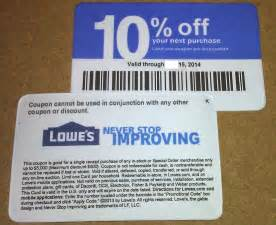 2017 Printable Lowe's Coupons 20% Off