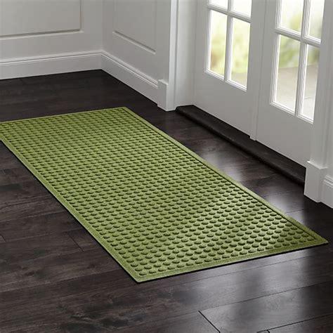 Green Doormat by Thirsty Dots Green 30 Quot X71 Quot Doormat In Door Mats Crate