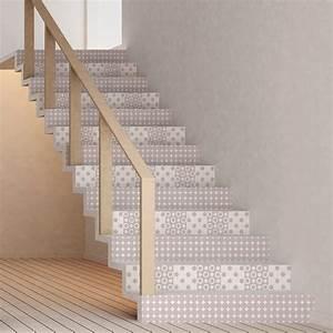 Escalier Carreaux De Ciment : stickers escalier carreaux de ciment bj rn x 2 ambiance ~ Dailycaller-alerts.com Idées de Décoration