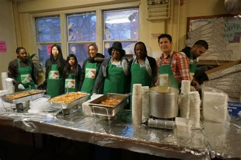 Soup Kitchen Serves Nycha Residents