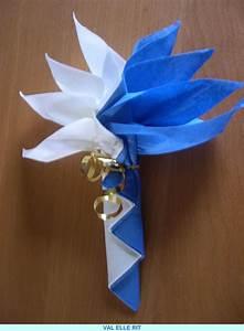 Pliage De Serviette En Papier Facile : exemple modele pliage avec 2 serviettes ~ Melissatoandfro.com Idées de Décoration