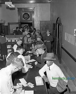 Fayette County clerk's office, 1952 | Kentucky Photo Archive