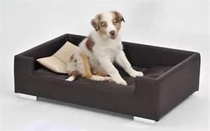 canape pour chien candy brun beige panier et corbeille With tapis moderne avec canapé lit pour chien