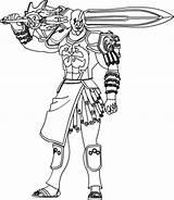 Kratos God War Coloring Deviantart 1of3 Sketch sketch template