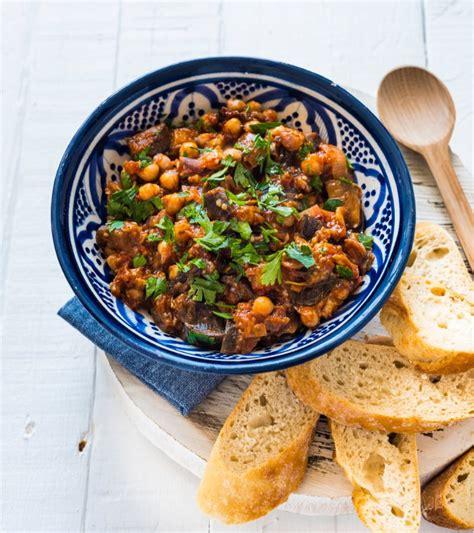 cuisine pour noel facile recette de ragoût d 39 aubergines aux pois chiches
