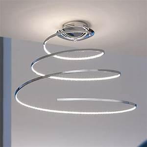 Led Deckenleuchte Bauhaus : tween light led deckenleuchte muna chrom energieeffizienzklasse a bis a durchmesser 55 cm ~ Buech-reservation.com Haus und Dekorationen