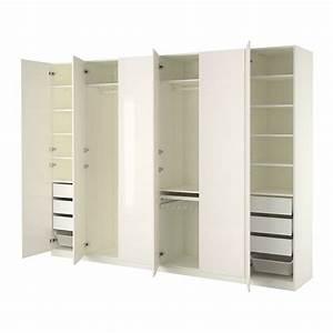 Ikea Kleiderschrank Weiss : pax kleiderschrank 300x60x236 cm scharnier ikea ~ Orissabook.com Haus und Dekorationen