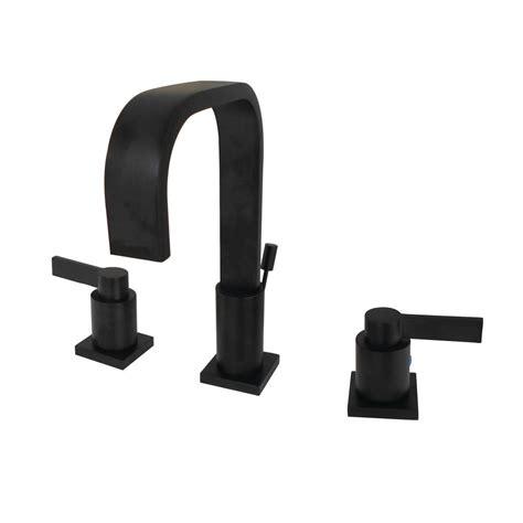 kingston brass modern   widespread  handle high arc