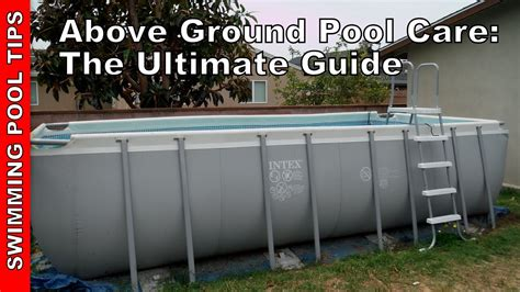 Deck Around Intex Pool by Above Ground Pool Care Amp Maintenance The Ultimate Guide