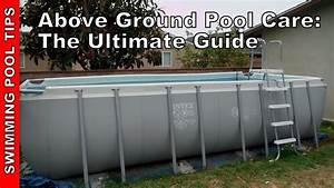 Above Ground Pool Care  U0026 Maintenance