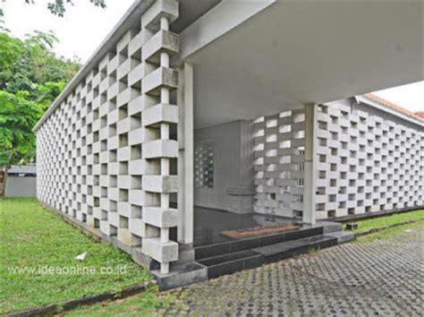 pagar rumah beton desain denah rumah terbaru