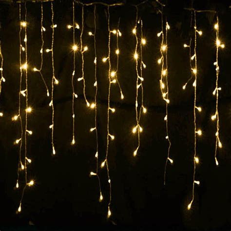 led icicle lights reviews connector 5m x 0 4m 0 5m 0 6m led curtain icicle string