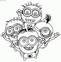 HD Wallpapers Minion Valentine Coloring Pages