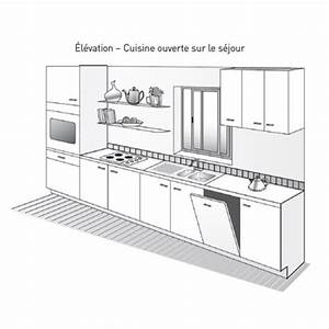 plan de travail bar cuisine americaine maison design With plan de travail cuisine americaine