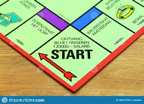 Game name start s with answers, cheats, solution, word, walkthrough, explanation for ios, iphone, ipad, android, facebook and other devices. Start Point On A Dutch Monopoly Game Board. Editorial Stock Image - Image of start, vintage ...