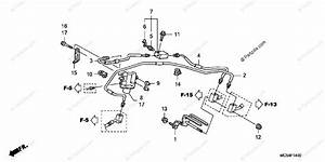 Honda Motorcycle 2004 Oem Parts Diagram For Proportioning Control Valve  St1300