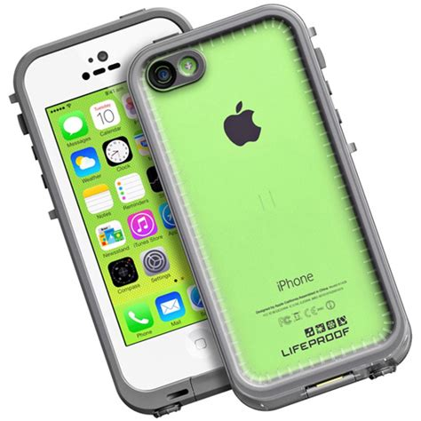 lifeproof iphone 5c fre white clear summit distribution