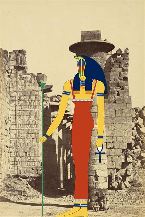 Meretseger The Great Cobra Goddess She Who Loves Silence