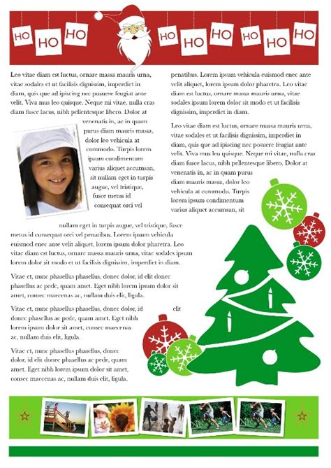 holiday newsletter best photos of family newsletter template newsletter template free